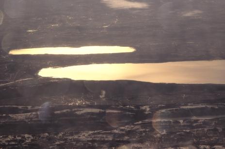 lacs d'or en fusion